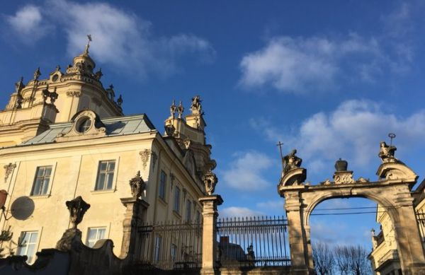 圣乔治大教堂建于圣乔治山上,是乌克兰最重要的天主教活动中心