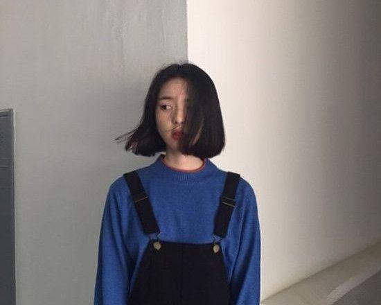 走潮流路线的妹子一定会喜欢的短发造型,时尚吸精,简直美得没谁