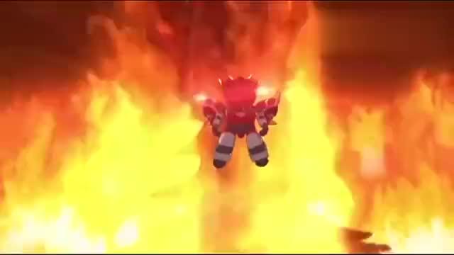 《激战奇轮》烈焰又被神兽轮给控制了?真是够倒霉的啊