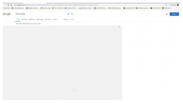 「图」Chrome上谷歌搜索某些词条会灰屏覆盖 谷歌正在调查