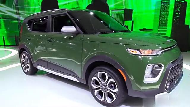 """视频:2020款起亚""""方正SUV""""SOUL车展实拍,外观大变样!"""