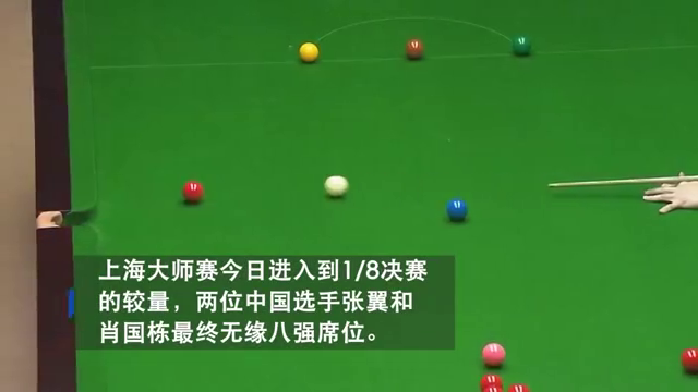上海大师赛次日:八强确定四席中国军团仅剩两人!