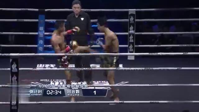 中国泰拳选手教对手打泰拳,打的泰拳王眉弓流血不止