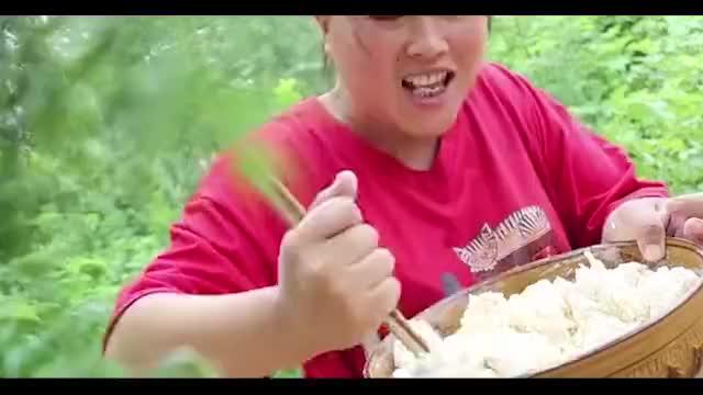 胖妹做中秋节美食还请出传家宝到底做了啥老妈吃撑