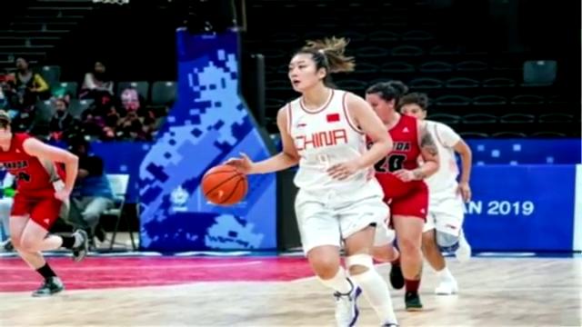 两数据零封对手!中国女篮82分大胜加拿大,剑指军运会金牌