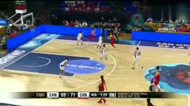 中国女篮排位赛:韩旭补篮打进!对手却提前犯规!尴尬!