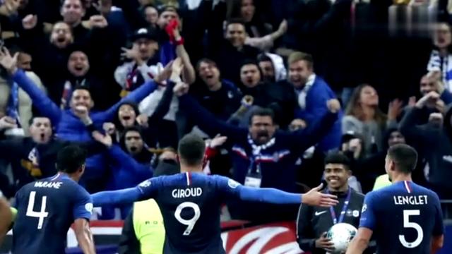 主场失利!欧预赛法国队战平土耳其,吉鲁破僵连续两场进球
