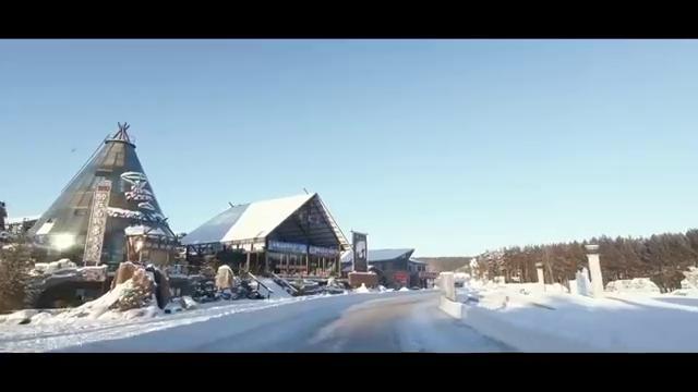 视频:王兮兮驾驶着荣威RX5,抵达北极村,开始观光游览