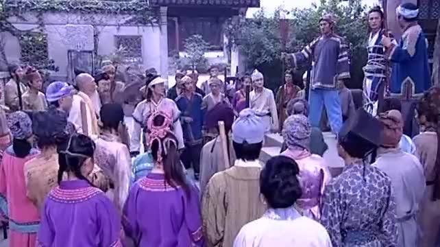 欢天喜地七仙女:扫把星出现在祠堂,乡亲们见到了