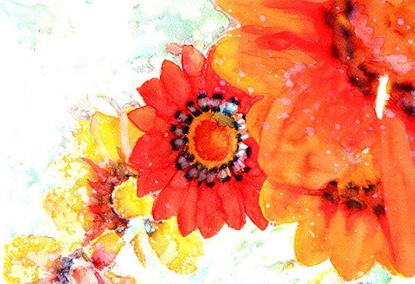 把水彩渲染得如此绚丽的第一人:美国画家Alex Carter作品欣赏