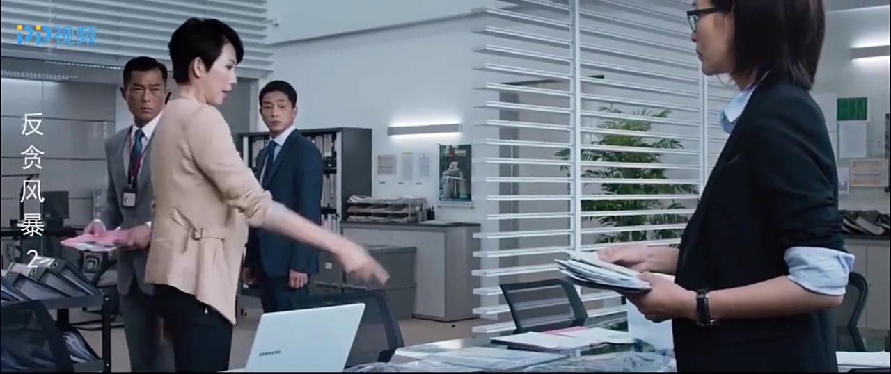 反贪风暴2:陆志廉刚得知重要证物,却被要挟拿证物换妹妹
