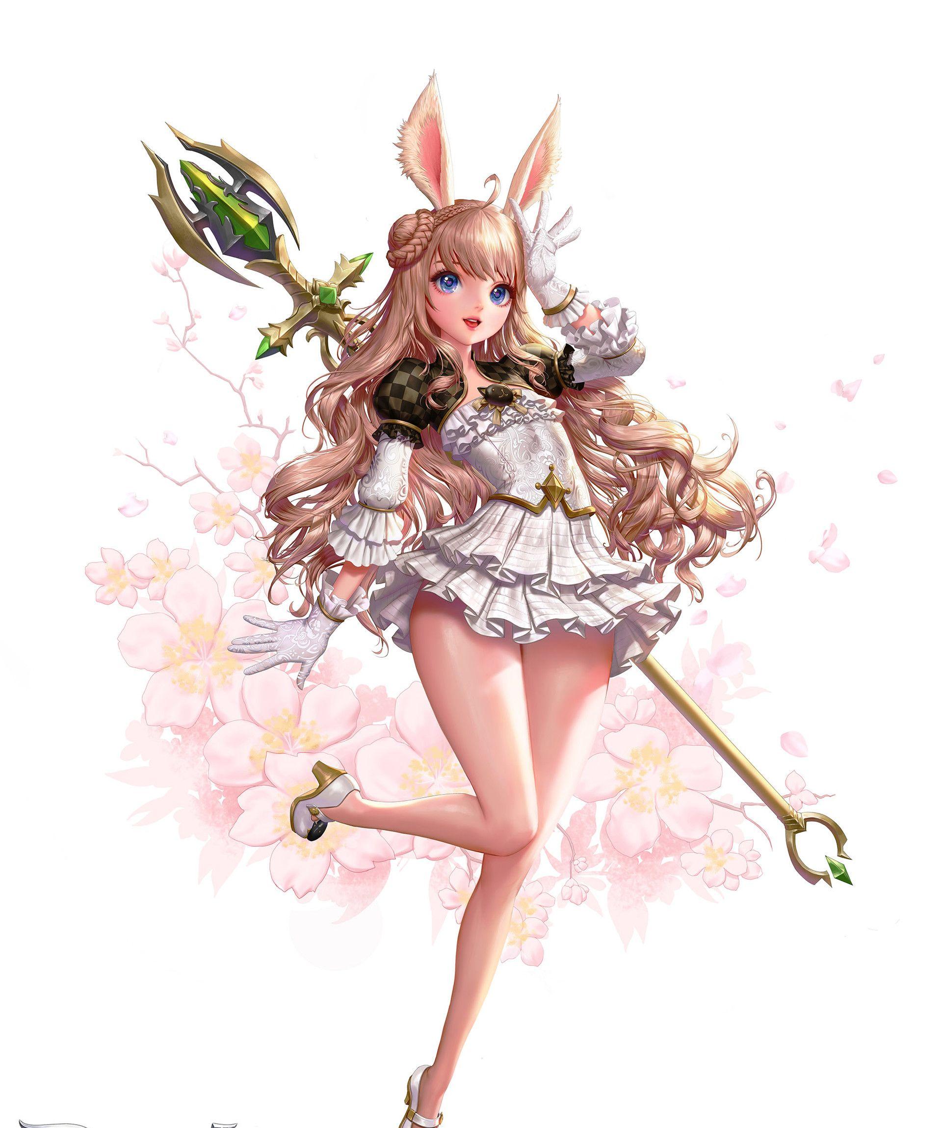 韩国插画师的一组美型人物设定作品!角色真的是个个高颜值好身材