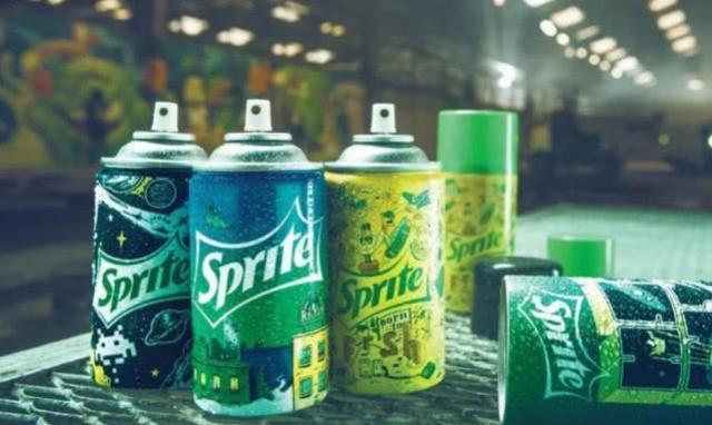 """可口可乐推出新产品""""雪碧喷雾罐"""",既能当喷雾也能当饮品!"""