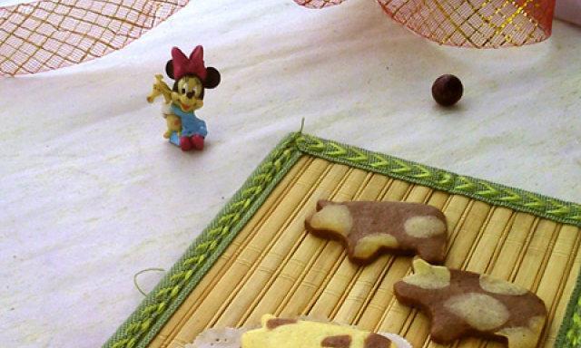 奶牛饼干,酥脆美味,一口一个吃到停不下来