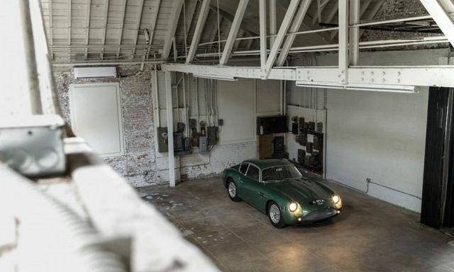 最美丽的跑车之一 阿斯顿马丁DB4 GT Zagato