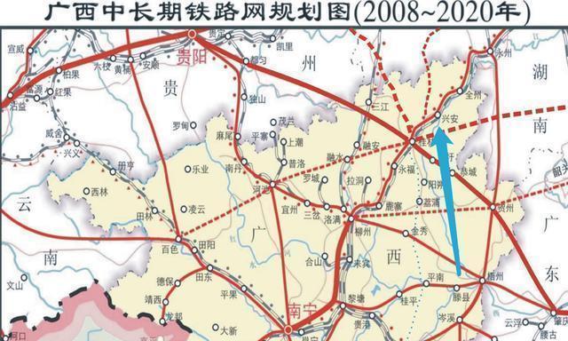 高铁新时代, 广西唯一高铁动车直通北上广的县, 要有大发展了