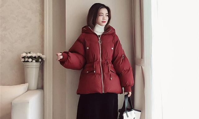 时尚又好搭配的短款韩范棉服,穿上轻松显高瘦哦!