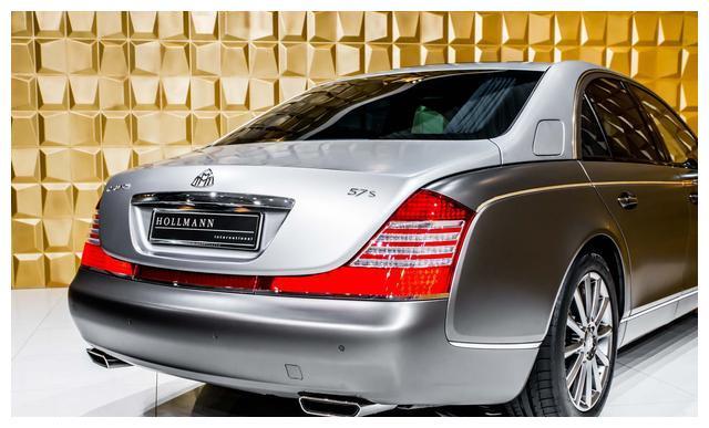 迈巴赫57S V12,这才是绝版豪车的奢华