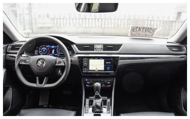 斯柯达新速派 颜值高,5米车长仅17万