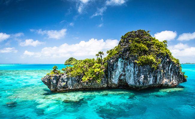 斐济,正披着今日的第一缕阳光向你问好