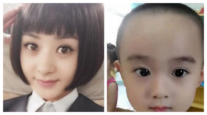 """6岁小朋友撞脸""""杨幂"""",粉丝暴涨20万,经纪公司抢着签约"""