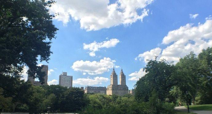 纽约市里有很多大大小小的公园,最大最著名的就是它