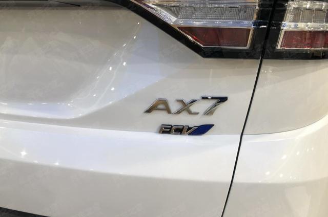 装载氢燃料电池的东风风神SUV,基本和AX7相同,关键看动力