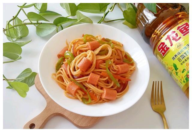 穿肠意面 金龙鱼营养强化维生素A 新派菜油