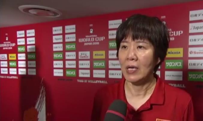 女排十连胜后,郎平:这不是实力最强的中国女排,还要卧薪尝胆!