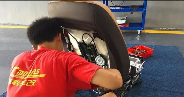 雷克萨斯ES200升级座椅通风,南山桃源改座椅,什么是座椅通风