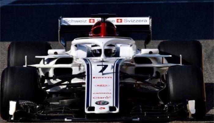 索伯车队:轮廓俊朗,F1车架由碳纤维制成,实力强劲