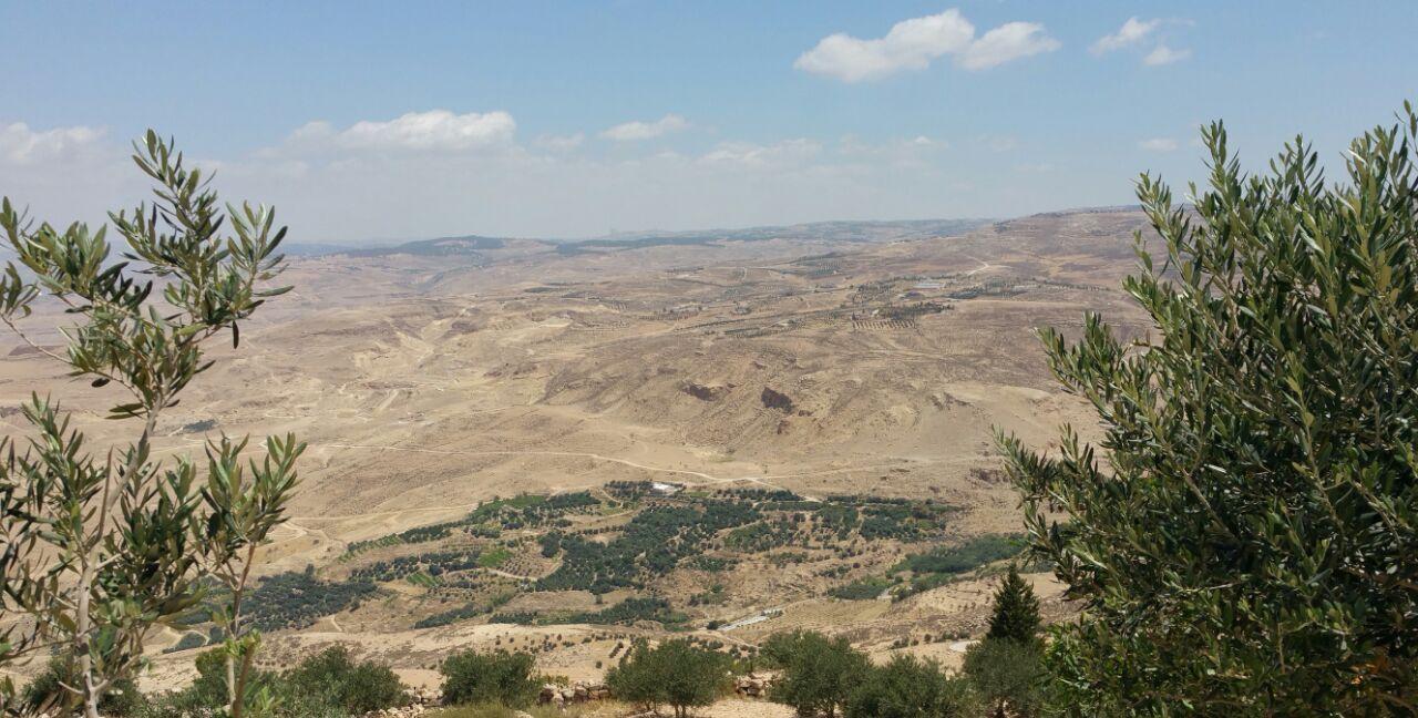 约旦安曼尼波山旅游游记 是约旦最值得敬畏的圣地之一