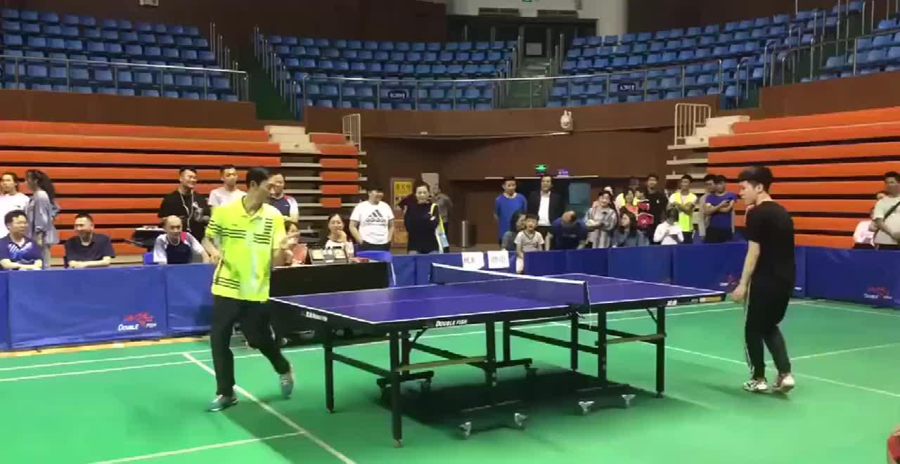 乒乓球被称为国球的原因小区随便一位大爷都是深藏不露的大神
