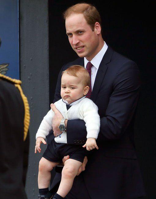 威廉王子虽然比较喜欢乔治,但是凯特王妃对夏洛特总是特别温柔