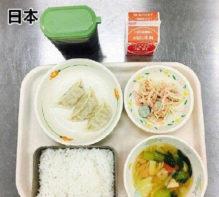 世界减肥餐 | 各地的学生网友们分享自己学校食堂的午餐