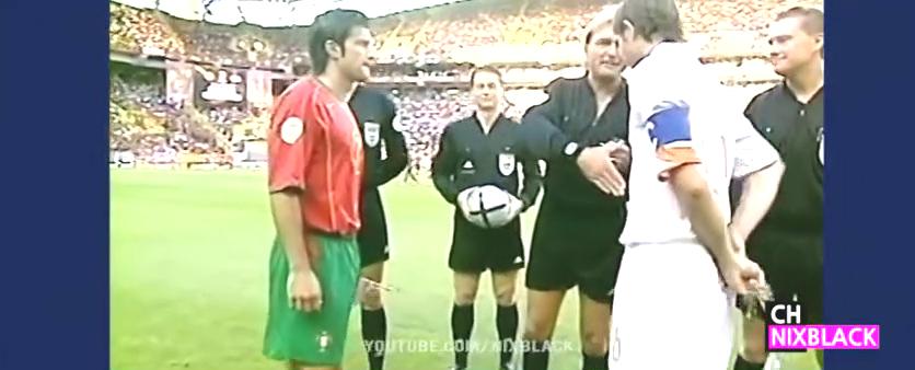 经典回顾:2004欧洲杯葡萄牙2-1荷兰 C罗传射德科助攻