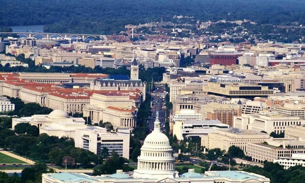 美国首都华盛顿,和中国北京相比,哪个更强