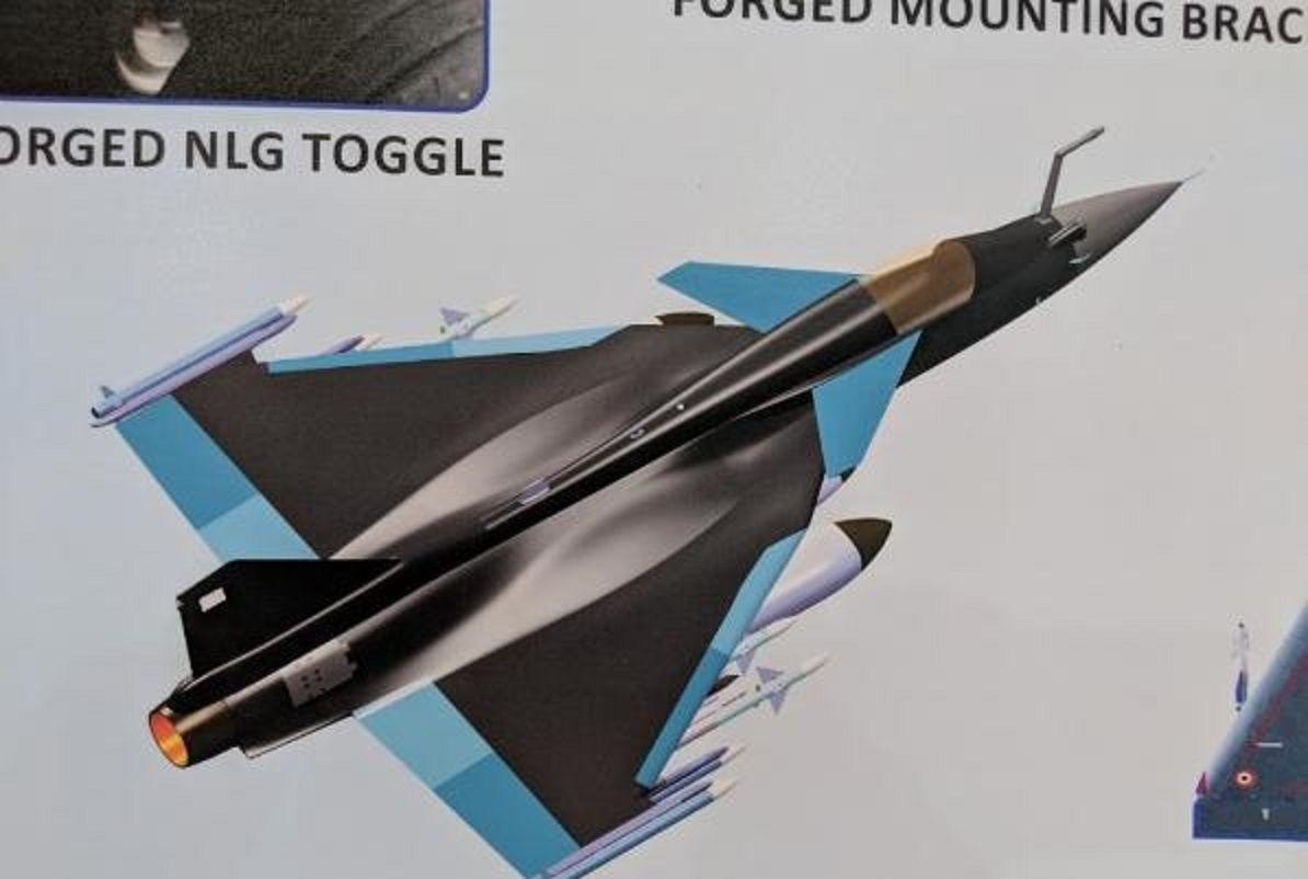 """抄袭""""鹰狮""""?印度新型LCA战机惹争议,一对鸭翼没加对?"""
