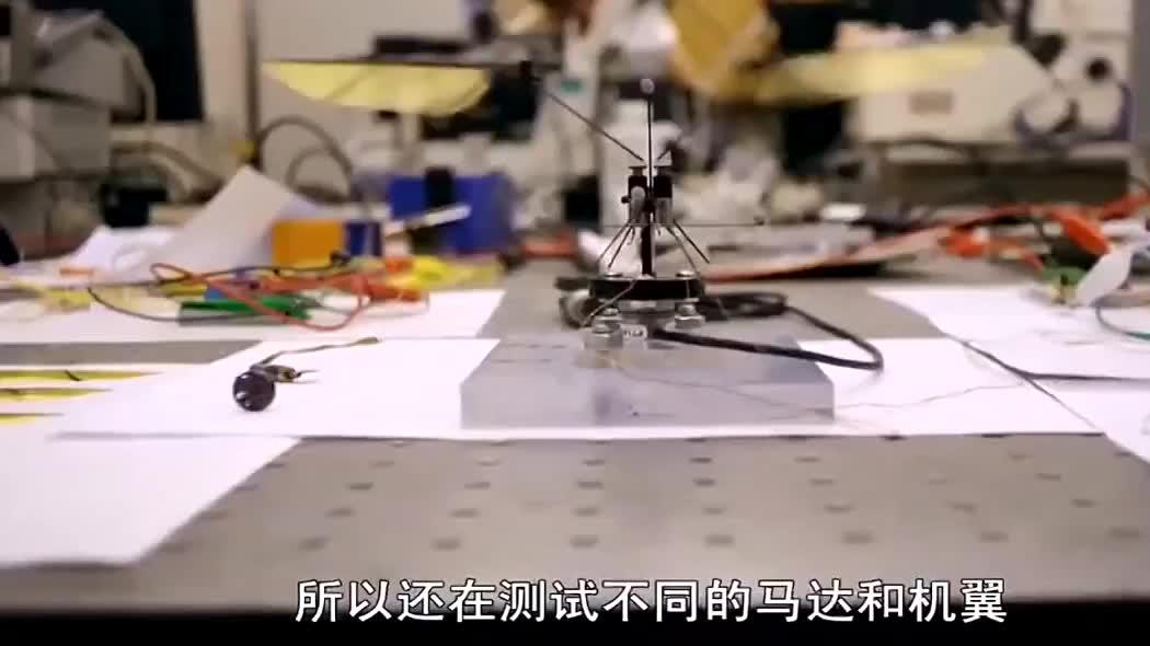 微型飞行机器:可用来搜救、搜查和监控,就是研发制造难度大