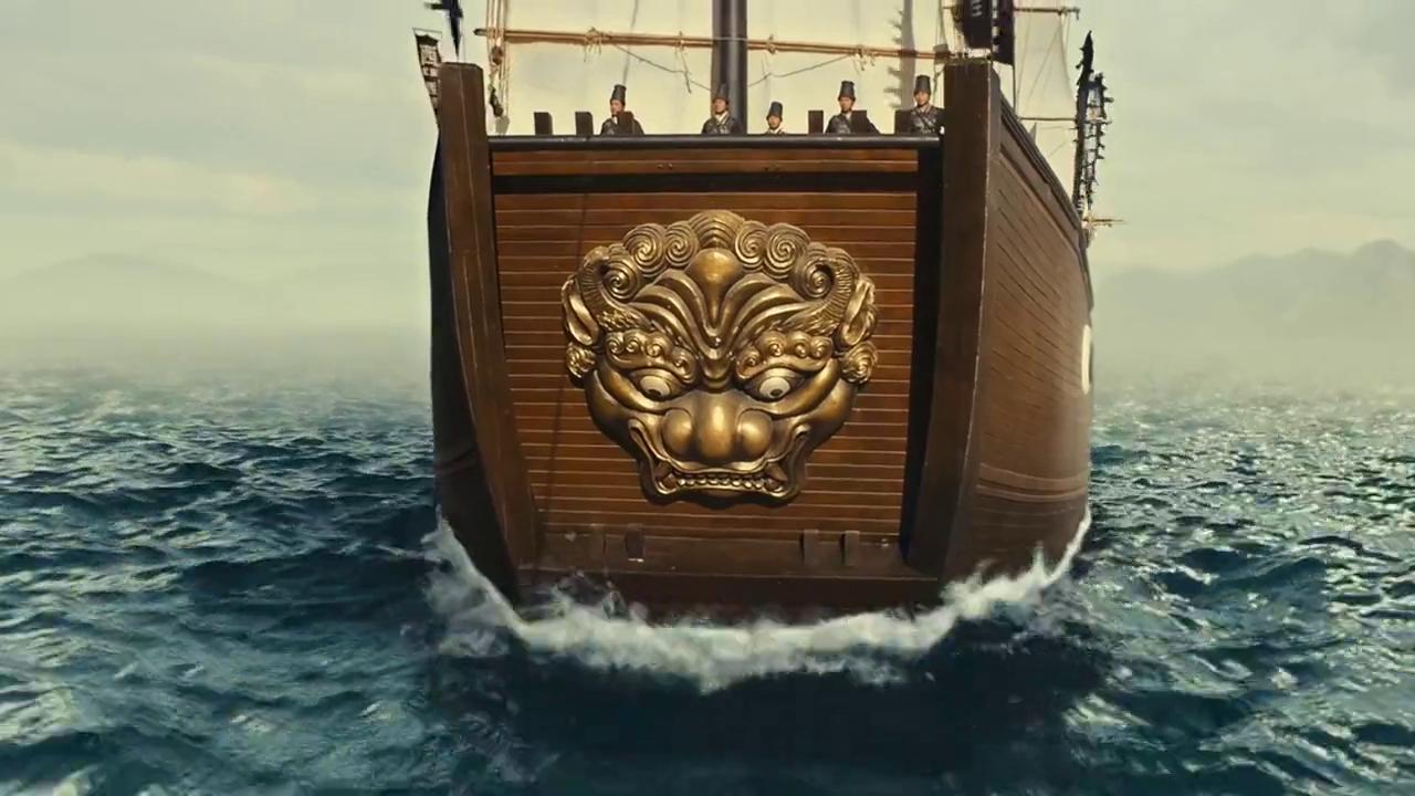 西厂驾驶龙船出海,海面上暗流汹涌,不知道会遇到什么危险?