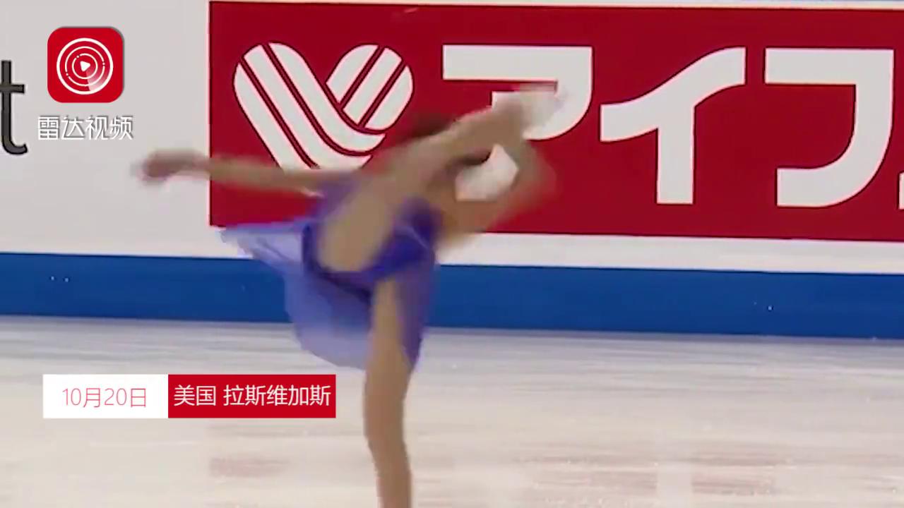 美哭!俄天才少女自由滑中仙女换装,创历史完成两次勾手四周跳