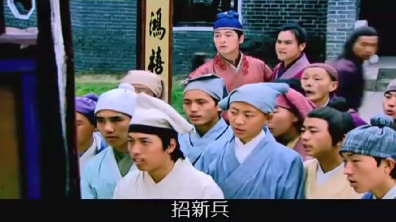 杨家六郎七郎参军入伍,考核官一看见他们俩,扬言:不用考了