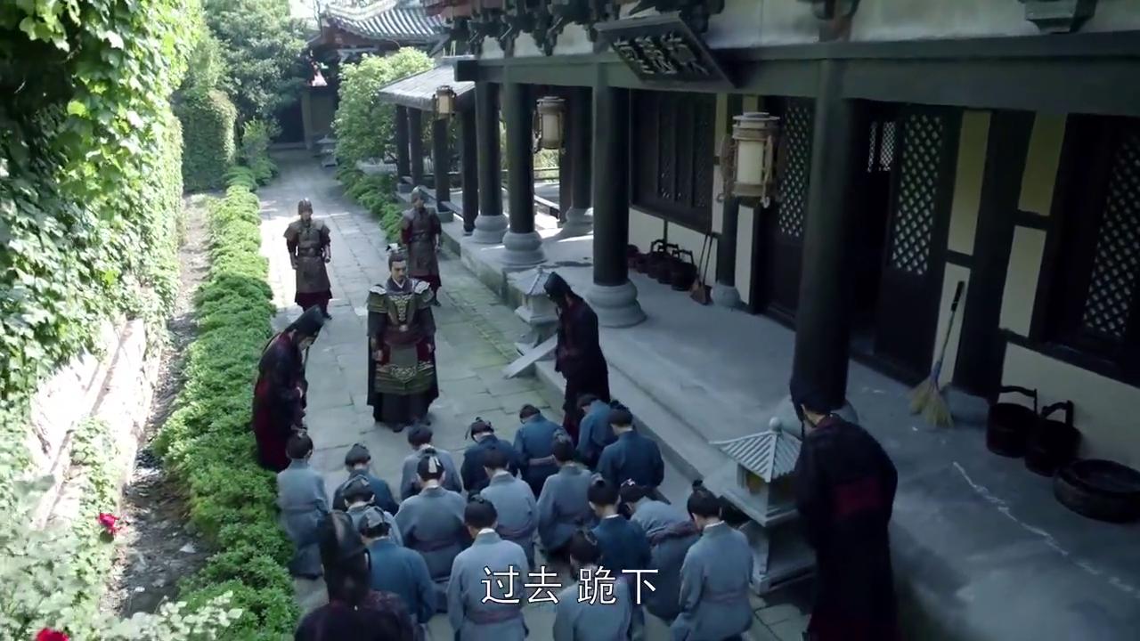 蒙大统领和梅长苏心灵相通,太会挑人了,一眼就选中了庭生!