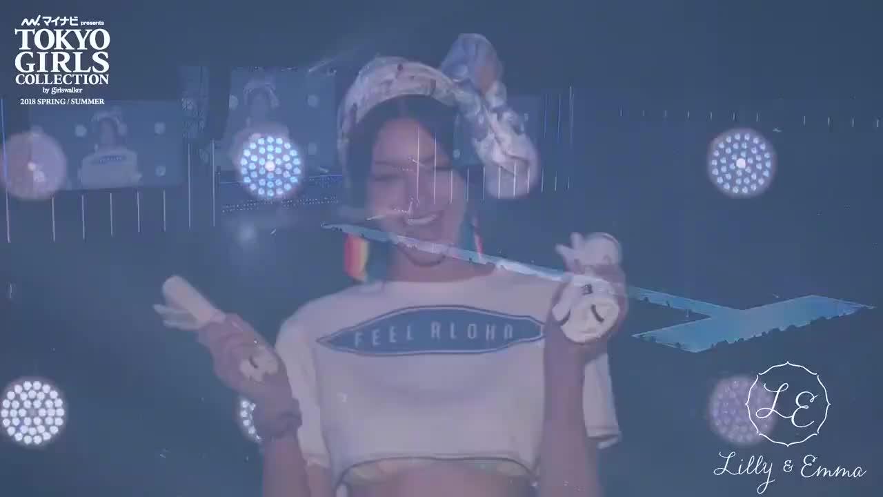 东京美女时尚走秀,亮眼着装,活力满满
