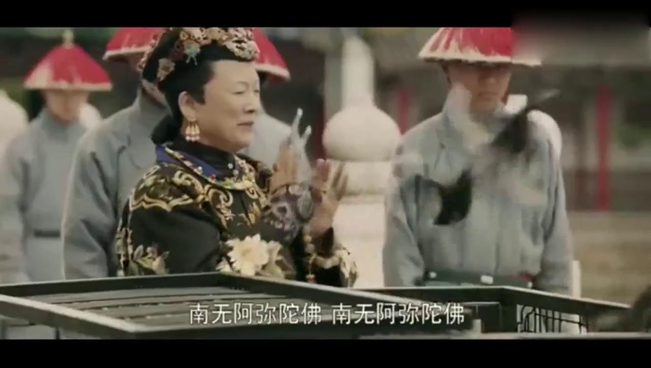 魏璎珞以五彩吉祥鸟,寿字锦鲤为太后贺寿,逗的太后欢心