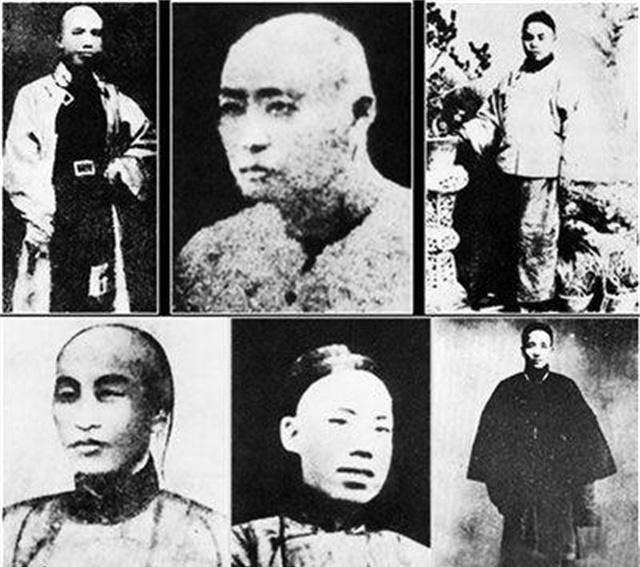 1898年9月28日在北京菜市口罹难的戊戌六君子