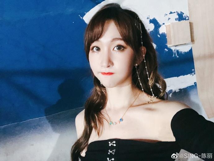 偶像女团SING陈丽美少女自拍美照欣赏