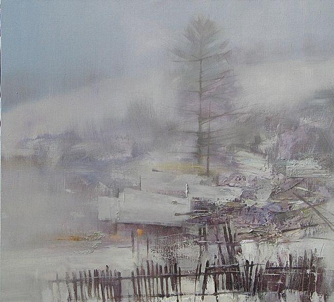 让人沉思:俄罗斯艺术家协会成员70后艺术家丹尼斯作品欣赏