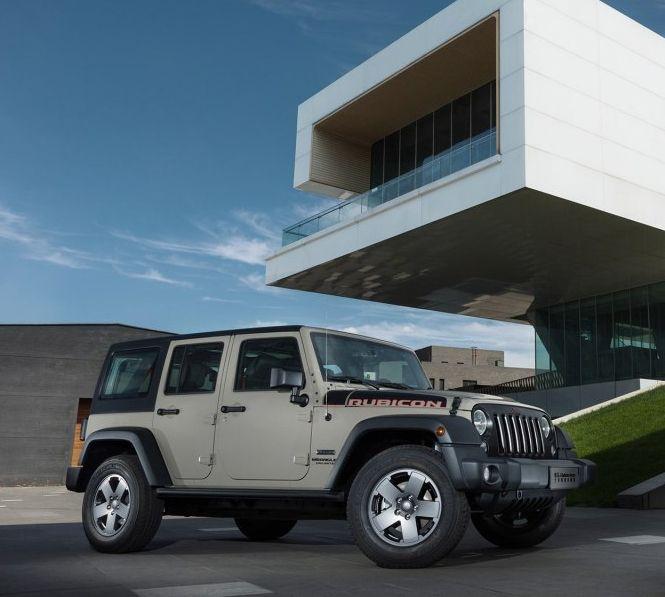 Jeep牧马人:出色的设计理念,给人动感十足的感觉