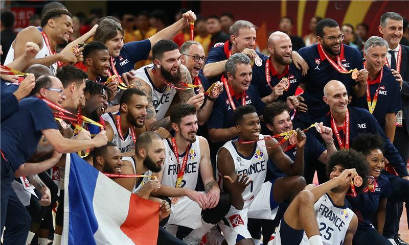 篮球世界杯:法国队获季军